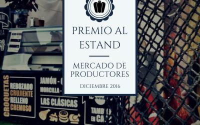 Las Cremositas ganan el Premio de estands de Mercado de Productores