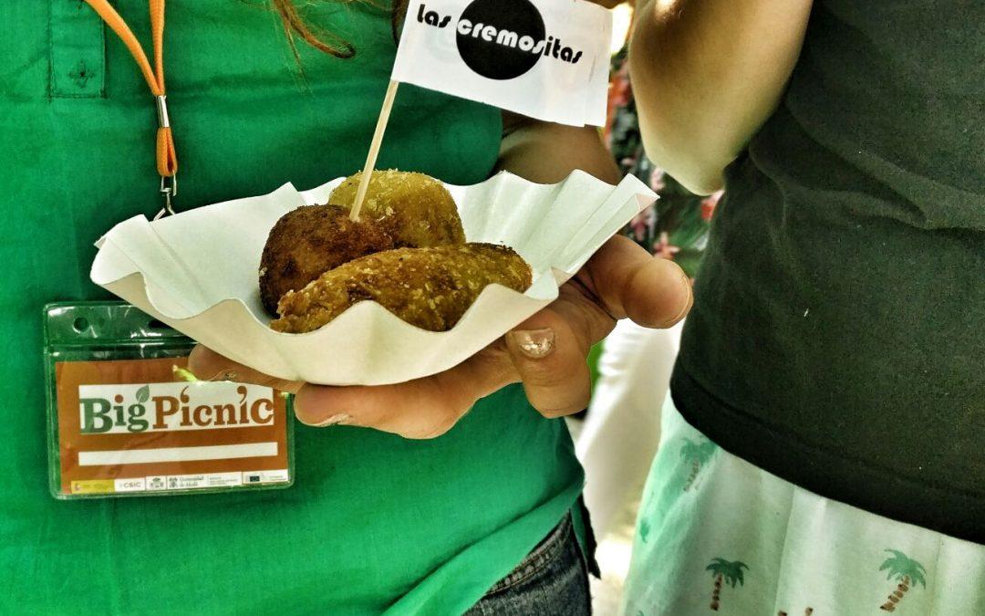 Las Cremositas participan en la feria de alimentación saludable de Big Picnic
